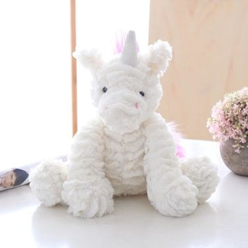 Bunny Stuffed Plush Animal Baby Rabbit Elephant unicorn lifelike toy Plush Soft.kawaii for children girls dolls& stuffed toys