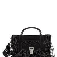 PS1 Fringe Suede Messenger