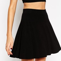 ASOS Skater Skirt in Jersey
