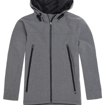 Modern Amusement Weston Tech Jacket - Mens Jacket - E. Heather Grey