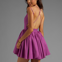 keepsake Perfect Stranger Dress in Boysenberry from REVOLVEclothing.com
