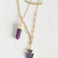 Boho Air of Mysticism Necklace by ModCloth