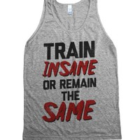 Athletic Grey Tank | Cute Workout Shirts