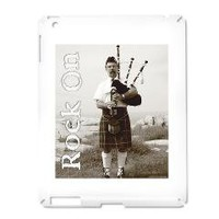 Rock On iPad2 Case> Bagpipes Rock On Accessories> Cross Threads