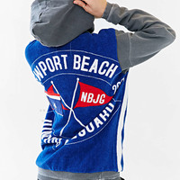 Yokishop Beach Towel Hooded Top - Urban Outfitters
