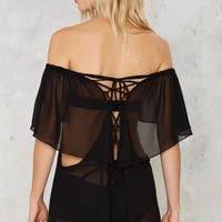 Lara Sheer Cover-Up