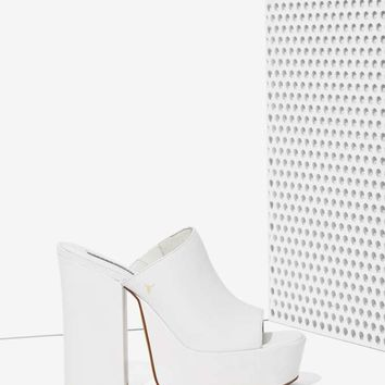 Windsor Smith Virginn Leather Platform