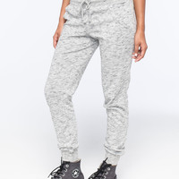 ALMOST FAMOUS French Terry Womens Jogger Pants | Girl In Motion