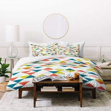 Hello Twiggs Columbia Duvet Cover