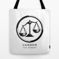 Candor Tote Bag by Amber Rose | Society6