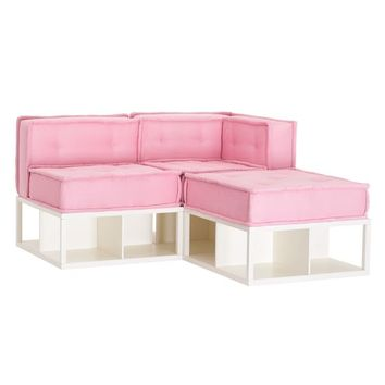 Cushy Lounge Sectional Set + Base