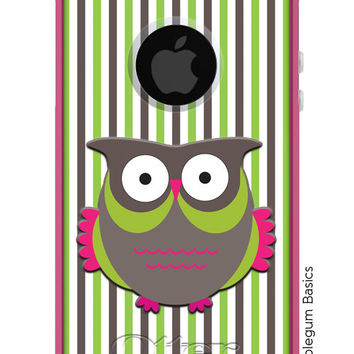 OTTERBOX Commuter iPhone 5 5S 5C 4/4s Samsung Galaxy S3 S4 S5 Note 2 3 Case Striped Owl design Fashion Series Collection