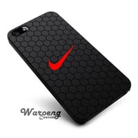 Black Hexagon Nike iPhone 4s iphone 5 iphone 5s iphone 6 case, Samsung s3 samsung s4 samsung s5 note 3 note 4 case, iPod 4 5 Case