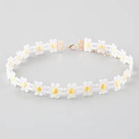 Full Tilt Daisy Choker Ivory One Size For Women 25361616001