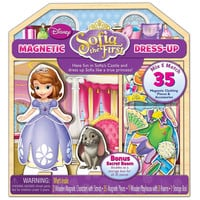 Disney Jr. Sofia the First Magnetic Dress-up - 35-Piece