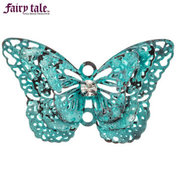 Green Patina Dimensional Butterfly Charm | Hobby Lobby | 1040831