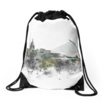 'Dublin Skyline' Tote Bag by MonnPrint