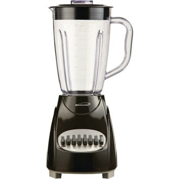 Brentwood 12-speed Blender With Plastic Jar (black)