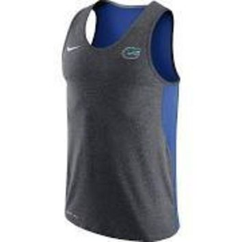 ONETOW NCAA Florida Gators Grey Dri-FIT Touch Tank