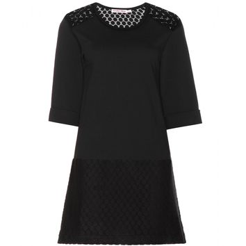 see by chloé - embroidered cotton dress