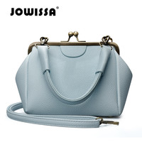 JOWISSA Famous Brand Fashion Women's Shoulder Bag Casual Women Top-handle Bags High Quality Leather Crossbody Bag for Female
