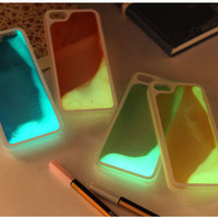 Liquid Luminous Glow In The Dark Sand - Phone Cases - Hard Plastic - iPhone 5/5S