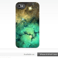 Glowing Nebula iPhone & iPod Case by Krystle