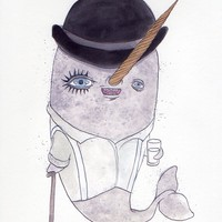 Clockwork Orange Narwhal