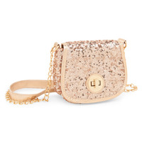 Sequined Crossbody Bag