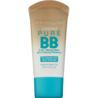 Maybelline New York Dream Pure BB Cream Skin Clearing Perfector, Medium - CVS.com
