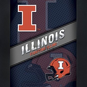 Illinois Fighting Illini | 3D Art | By PFF | Framed | 3-D | Lenticular Artwork | NCAA Licensed