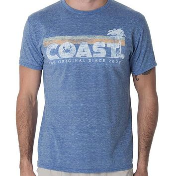 Vintage Crab Cool Tee in Royal Snow Heather by Coast