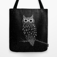 night glasses Tote Bag by Marianna Tankelevich