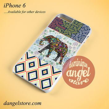 Abstrack Chevron Aztec Elephant Phone case for iPhone 6 and another iPhone devices