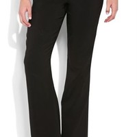 Black Dress Pant with Three Button Closure