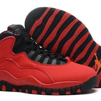 DCCKL8A Jacklish Girls Air Jordan 10 Gs Fusion Red/black-laser Orange Cheap Sale