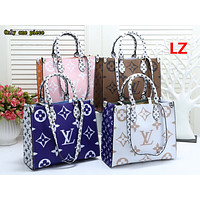 LV Fashion Hot Selling Ladies'Printed and Coloured Shopping Bags