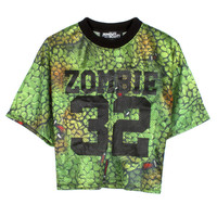 JEREMY SCOTT | Store » Zombie 32 Football Jersey