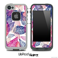 Color Seamless Leaves Skin for the iPhone 5 or 4/4s LifeProof Case