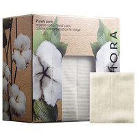 SEPHORA COLLECTION Purely Pure Organic Cotton Facial Pads (60 Cotton Pads)