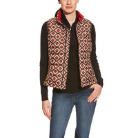 Ariat Ladies Ideal Down Vest - Aztec Print
