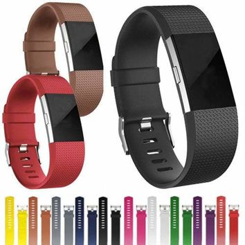 For FitBit Charge 2 Strap Replacement Band Classic Buckle Wristband Bracelet