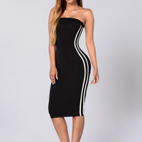 Last Sprint Dress - Black