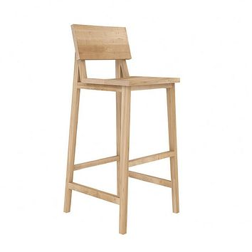 Ethnicraft N4 Bar Stool