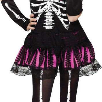 girl's costume: sally skelly | small