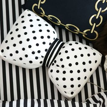 The Emily + Meritt Bowtie Pillow