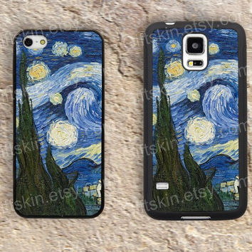 Oil painting color door box  iphone 4 4s iphone  5 5s iphone 5c case samsung galaxy s3 s4 case s5 galaxy note2 note3 case cover skin 176