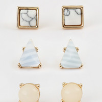 Altar'd State Natural Designs Earring Set - Earrings - Jewelry