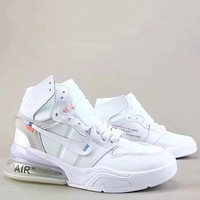 Trendsetter Off White X Air Jordan 1 Retro Fashion Casual High-Top Sneakers Sport Shoes