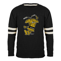 Wichita State Shockers Wheatshocker Collection Slub T-Shirt - Black-